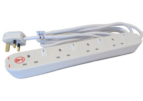 SURGE PROTECTION EXTENSION LEAD 4 GANG SOCKET 2MT (S4WMP)